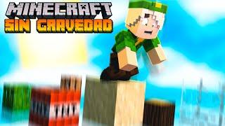 Minecraft pero hay GRAVEDAD y todo se CAE!