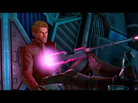 Hala the Accuser Kills Star-Lord on Revenant Warship (Guardians of the Galaxy | Telltale Games)