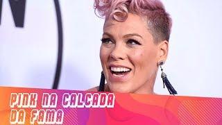 Baixar Pink ganha estrela na Calçada da Fama em Hollywood   FM News