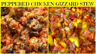 Peppered Chicken Gizzard Stew