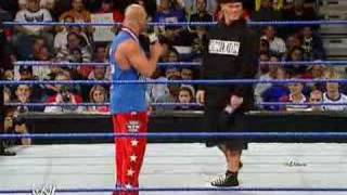 John Cena Battle Rap with Kurt Angle