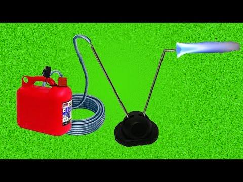 видео: Как сделать горелку из телескопической антенны /  how to make a burner from a telescopic antenna