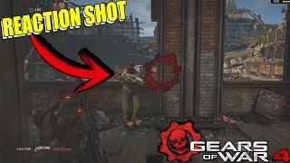 GEARS OF WAR 4 | COMO HACER REACTION SHOT EN GEARS 4 BIEN EXPLICADO!! | TUTORIAL |