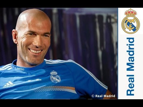 Entrevista a Zinedine Zidane en Realmadrid TV - YouTube