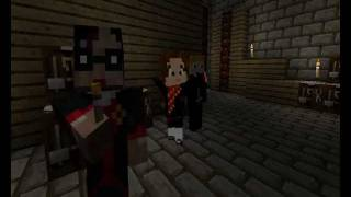 Harry Potter and The Deathly Hallows Part 2 Trailer - Minecraft