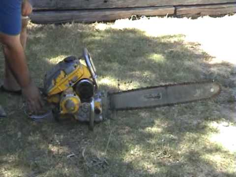 Vintage Mcculloch Chainsaws