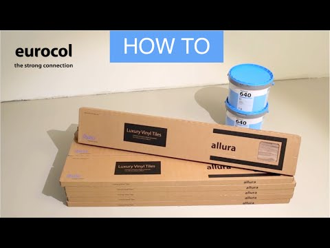 EUROCOL | HOW TO | installing a pvc or lvt floor