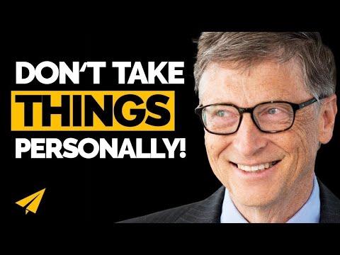 """Don't TAKE Things PERSONALLY!"" - Bill Gates - #Entspresso thumbnail"