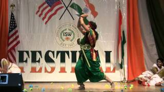 Jhansi ki Rani  dance by Amudhasri Dance School