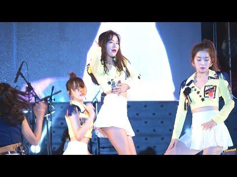 180914 슬기 Seulgi 레드벨벳 Red Velvet 'Bad Boy' 4K 60P 직캠 @장수 한우랑사과랑 축제 by DaftTaengk