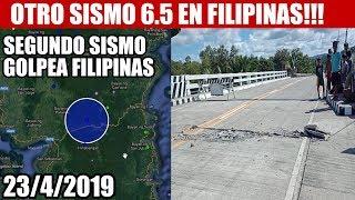 ULTIMA HORA, OTRO FUERTE SISMO DE 6.5 GOLPEA FILIPINAS!!! 2342019