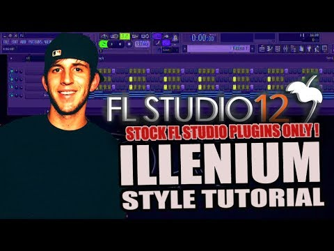 How To Make Music Like Illenium Using Only Stock Plugins [FL Studio 12] + FREE FLP !