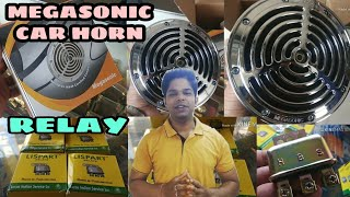 || Megasonic Car Horn and Relay Unboxing |•