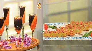 أعواد فطائر السوسيس - أكواب موس البرتقال والشيكولاتة   | زعفران وفانيلا حلقة كاملة