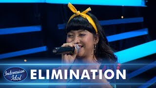 GHEA INDRAWARI - ENGLISH MAN IN NEW YORK (Sting) - ELIMINATION 3 - Indonesian Idol 2018
