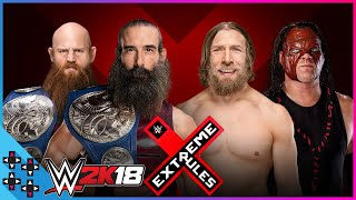 Extreme Rules 2018: Bludgeon Brothers vs. Team Hell No - SmackDown Tag Title Match - WWE 2K18 Sims
