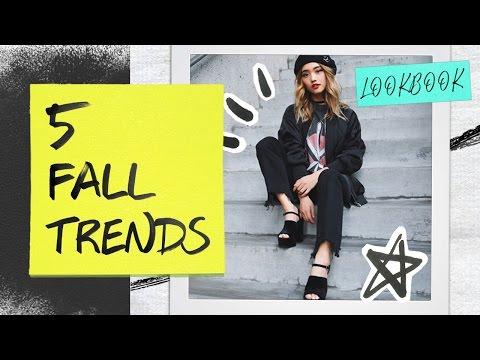 5 Fall Trends Lookbook