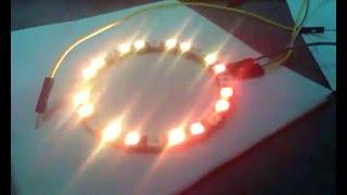 RGB кольцо на WS2811
