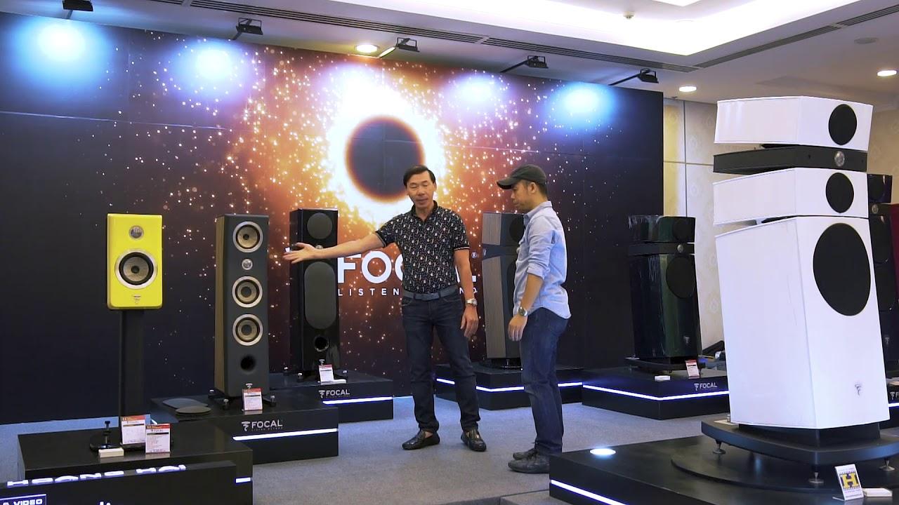 Hoàng Hải Audio giới thiệu siêu loa Focal cùng set-up âm thanh 1 triệu euro tại Hi-end Show 2018