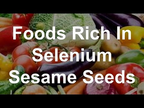 Foods Rich In Selenium - Sesame Seeds
