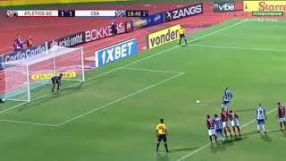 Gol de Daniel Costa - Atlético-GO 1 x 2 CSA - Brasileiro Série B 23/07/2018
