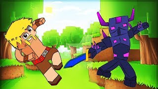 Clash Royale Animation #5: PEKKA VS BARBARIAN in MINECRAFT (Parody)