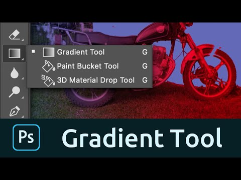 How To Use The Gradient Tool In Photoshop