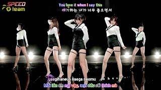 [Vietsub + Engsub + Kara] Rainbow Blaxx (레인보우 블랙) - Cha Cha