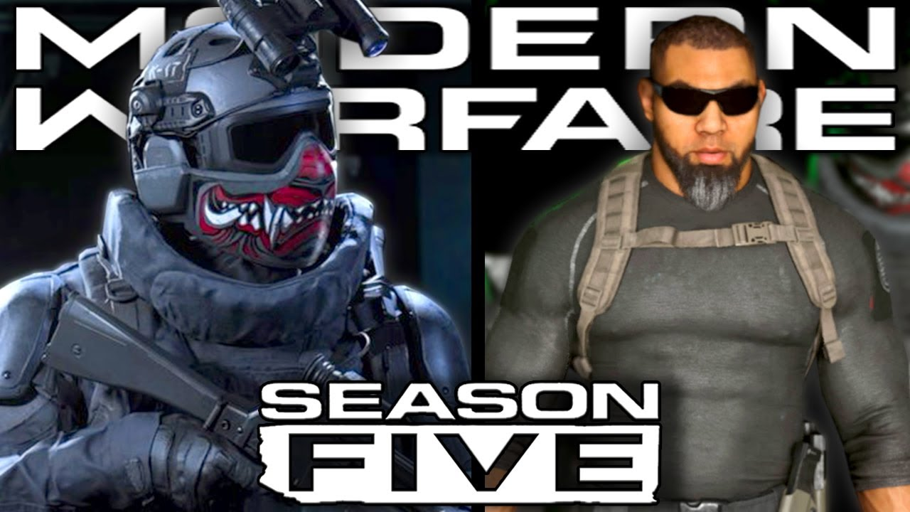 Modern Warfare Season 5 New Operators Revealed Shadow Company Youtube