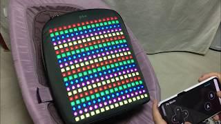 게이즈샵에서 만난 픽스LED백팩(pix backpack…