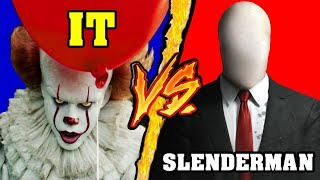 IT (Pennywise) VS SLENDERMAN 🎃 Speciale Halloween 🎃 - Battaglia Rap Epica Freestyle - Manuel Aski