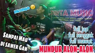 Download lagu Mundur Alon - Alon.. Full mawut feat New Tirta Music