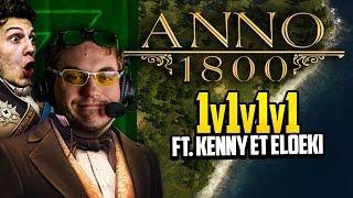 Anno 1800 #25 (ft. Kenny et Eloeki) : 1v1v1v1