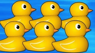 Six Little Ducks That I Once Knew | Nursery Rhymes | Popular Kids Songs by Raggs TV