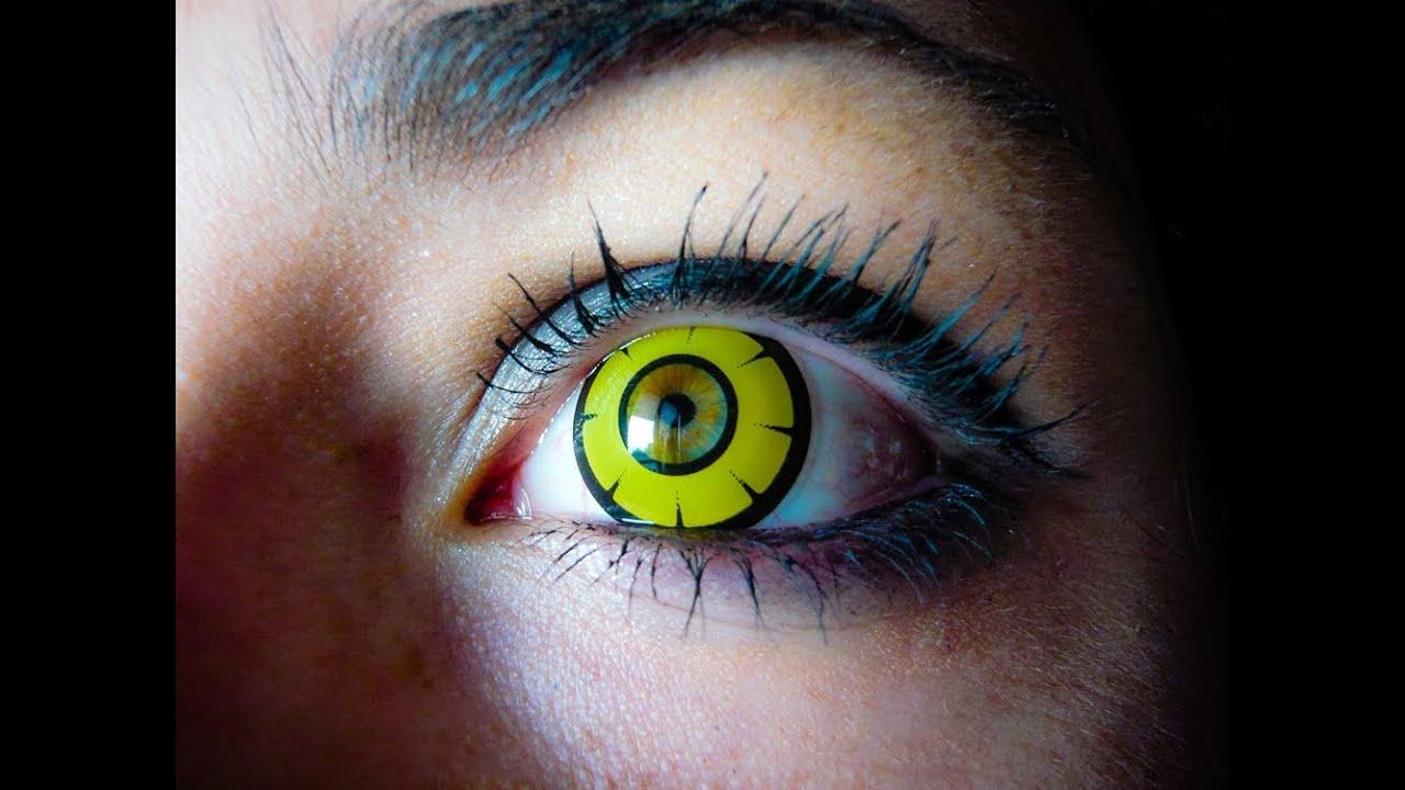 Yellow Eye Lenses Eye Twilight Yellow