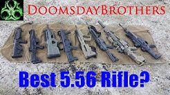 5.56/.223 Rifle Showdown! - SCAR 16S vs Bren 805 vs Tavor vs RDB vs ACR vs XCR vs FS2000 vs ARX 100