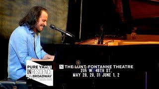 """Experience """"PURE YANNI"""" - Yanni In Residence """"On Broadway""""! thumbnail"""