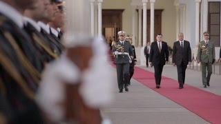السيد رئيس المجلس الرئاسي في زيارة رسمية للعاصمة الجزائر