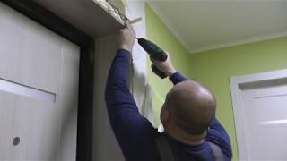 Установка дверей своими руками, монтаж обналички, пошаговая видео-инструкция