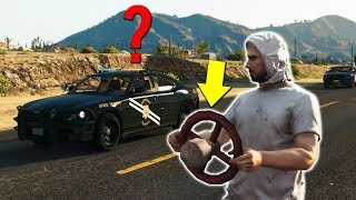 ANNOYING A SERVER WITH MY STEERING WHEEL!   GTA 5 ROLEPLAY