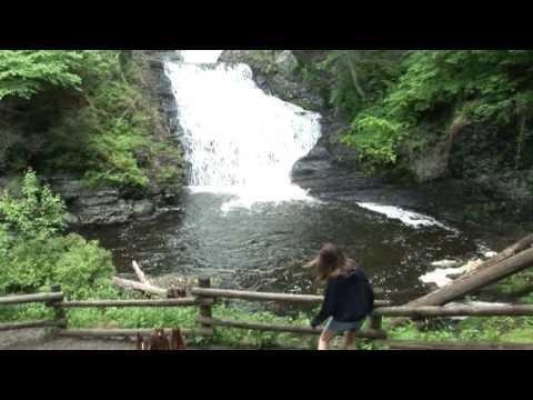 Waterfalls Along The Delaware River Gap National Recreation Area