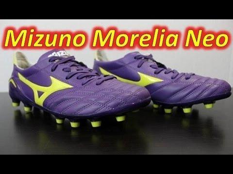best service 82df5 a596a Mizuno Morelia Neo Purple Yellow White - UNBOXING