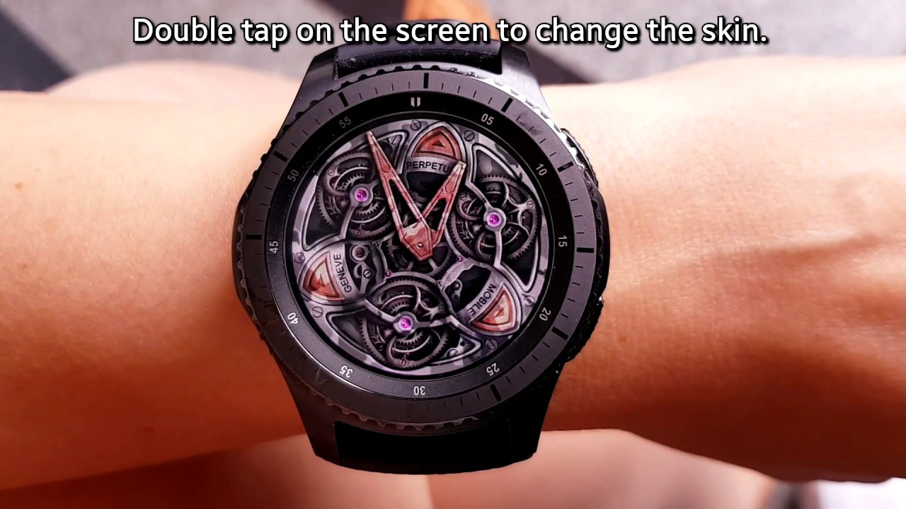 how to get free samsung gear s3 watch faces