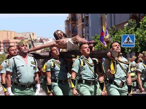 Multitudinario acto de la Jura de Bandera Civil en Algeciras