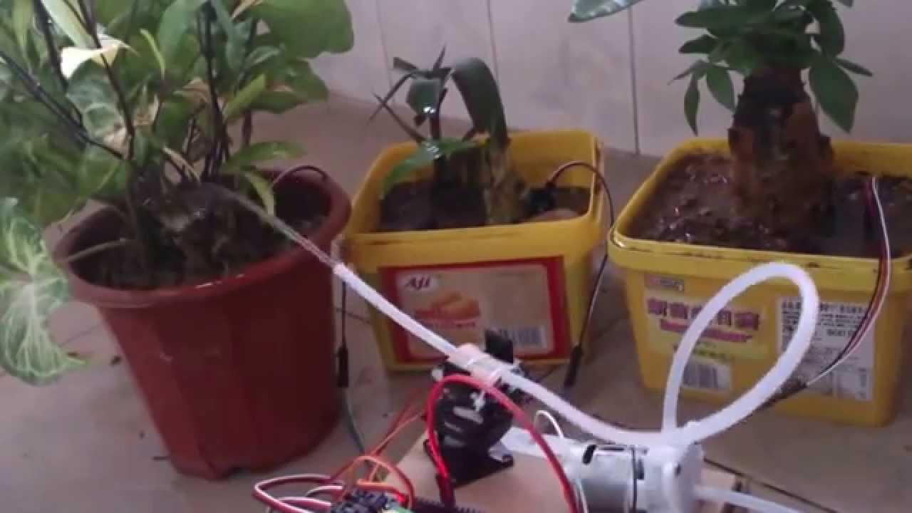 Arduino sistema de riego automático plantas doovi