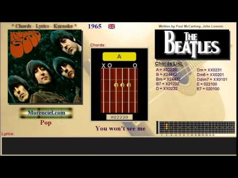 The Beatles - You won't see me #0332
