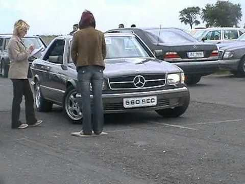 Mercedes Benz Classic Cars - meeting Melnik 2005
