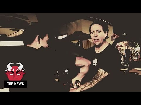 Marilyn Manson Turns Himself In To Police
