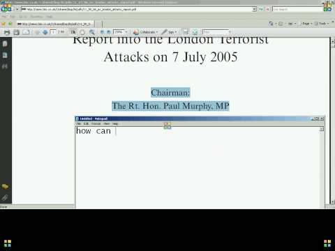 7/7 Bombings Intelligence and Security Committee Incorrect Date