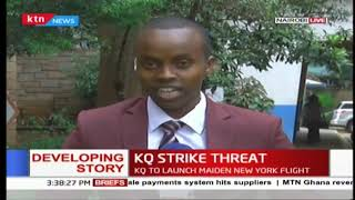 KQ strike threat: Kenya Airways managers write to union